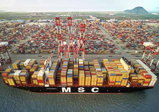 Shortage of containers and Closing of Shanghai Port