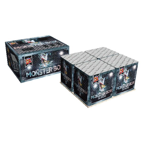 "1 ""MONSTER BOX 144s"